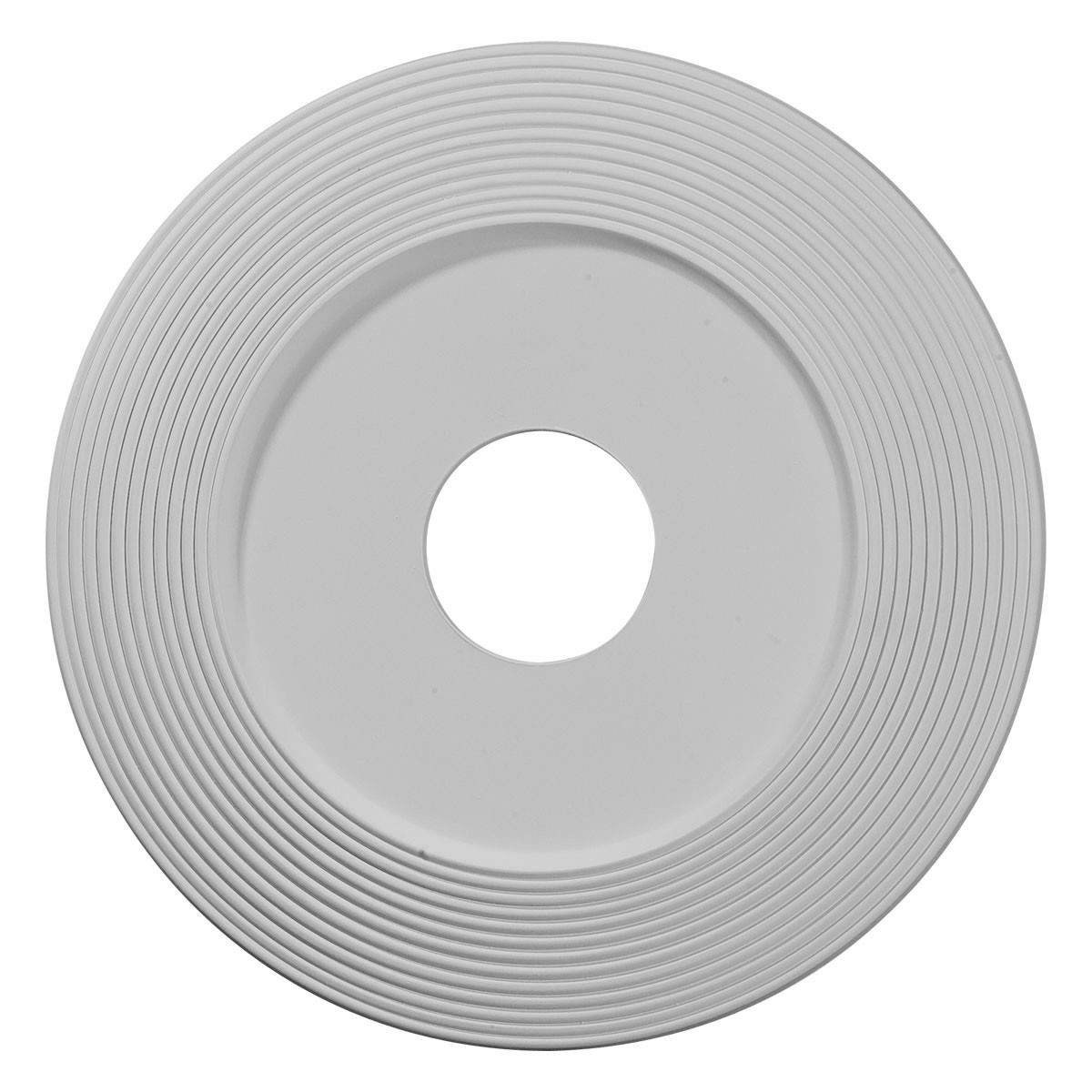 "EM-CM16AD - 16 1/8""OD x 3 5/8""ID x 1""P Adonis Ceiling Medallion (Fits Canopies up to 10 1/4"")"