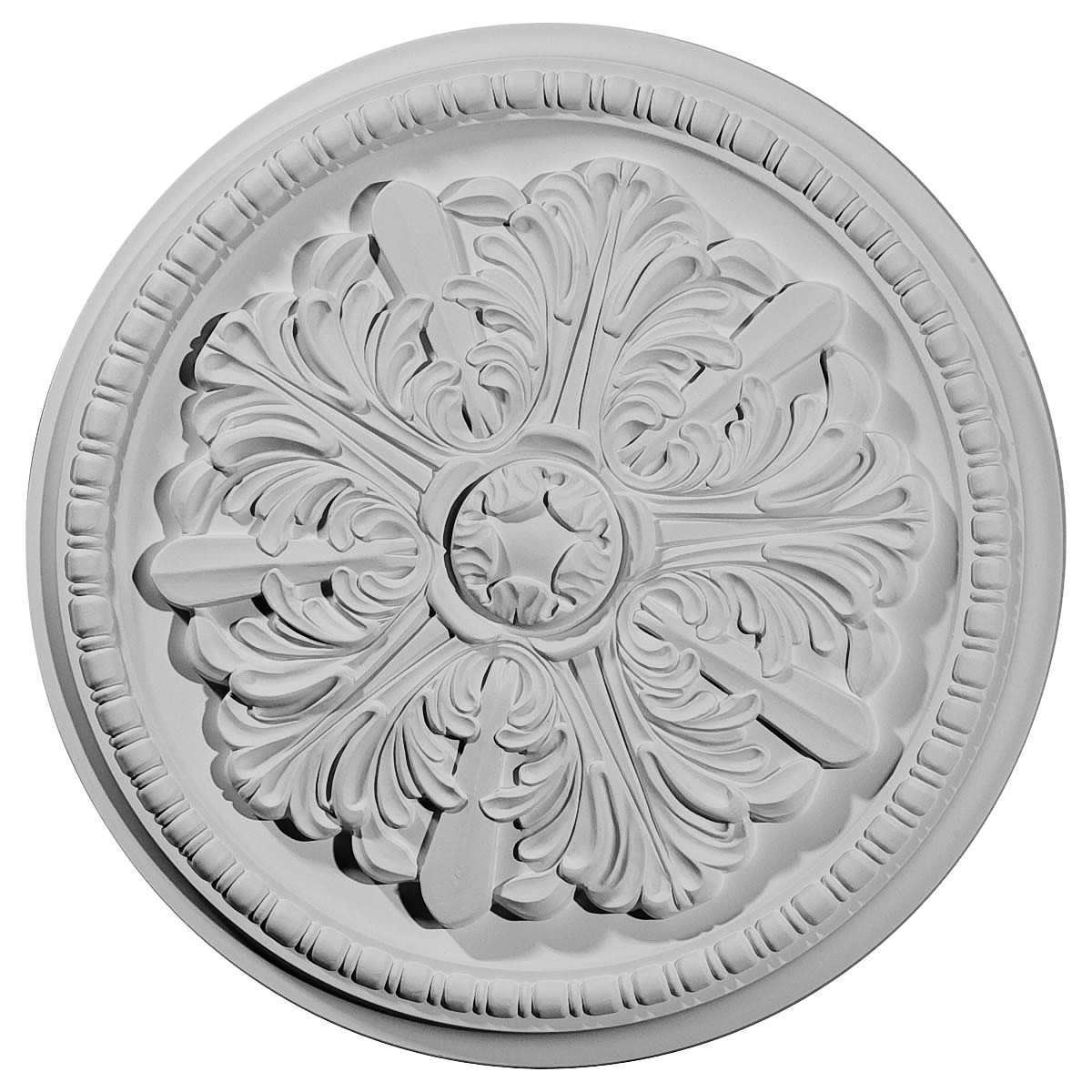 "EM-CM16SW - 16 7/8""OD x 1 1/2""P Swindon Ceiling Medallion (Fits Canopies up to 2 7/8"")"