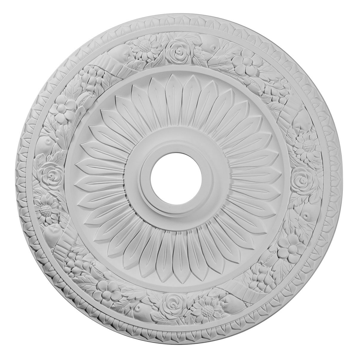 """EM-CM23BE - 23 5/8""""OD x 3 5/8""""ID x 1 1/8""""P Bellona Ceiling Medallion (Fits Canopies up to 3 5/8"""")"""