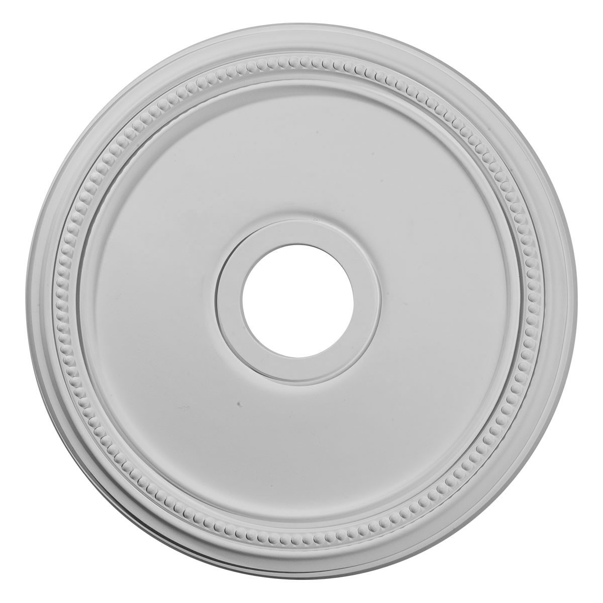 """EM-CM18DI - 18""""OD x 3 5/8""""ID x 1 1/8""""P Diane Ceiling Medallion (Fits Canopies up to 5 3/8"""")"""