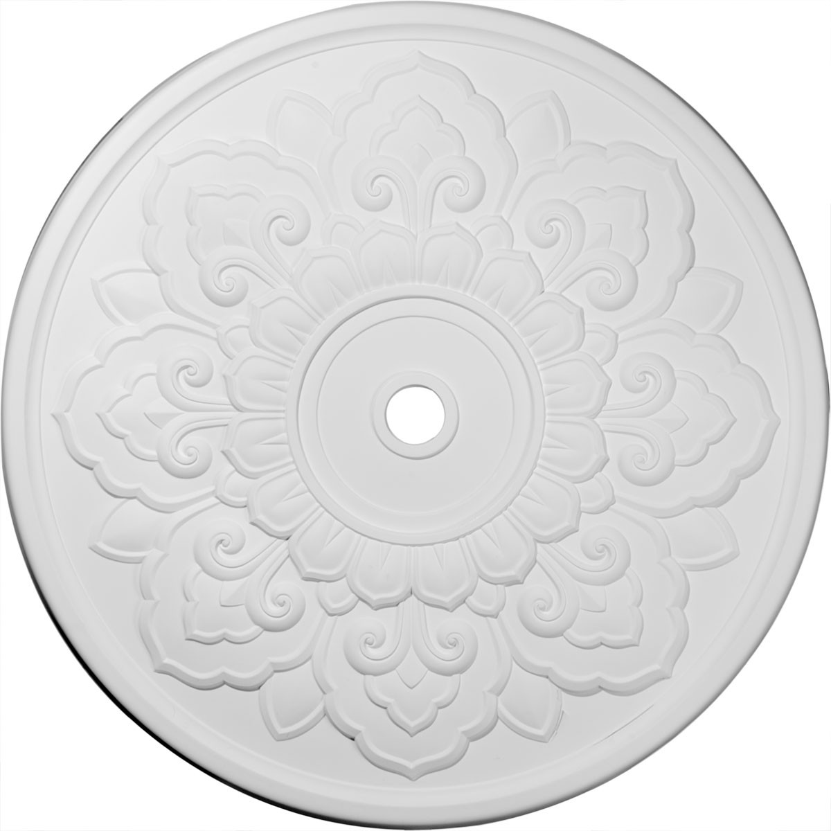 """EM-CM50LO - 50 1/8""""OD x 3 5/8""""ID x 1 3/4""""P Lorry Ceiling Medallion (Fits Canopies up to 14 1/8"""")"""