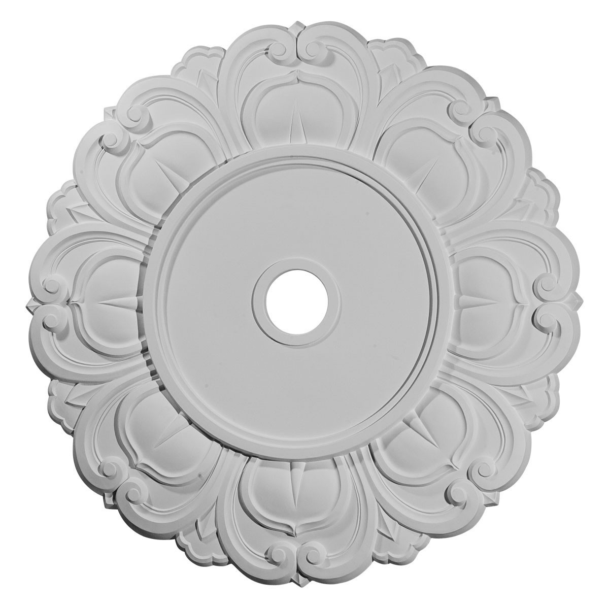 """EM-CM32AN - 32 1/4""""OD x 3 5/8""""ID x 1 1/8""""P Angel Ceiling Medallion (Fits Canopies up to 15 3/4"""")"""