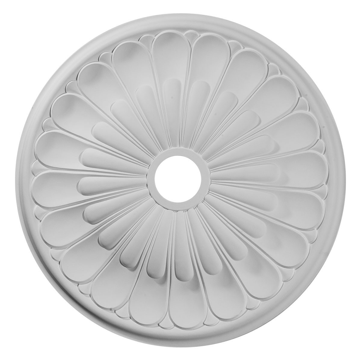 """EM-CM26EL - 26 3/4""""OD x 3 5/8""""ID x 1 3/8""""P Elsinore Ceiling Medallion (Fits Canopies up to 3 5/8"""")"""
