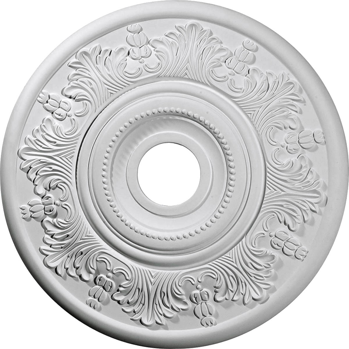 "EM-CM20VI - 20""OD x 3 1/2""ID x 1 1/2""P Vienna Ceiling Medallion (Fits Canopies up to 6 1/2"")"