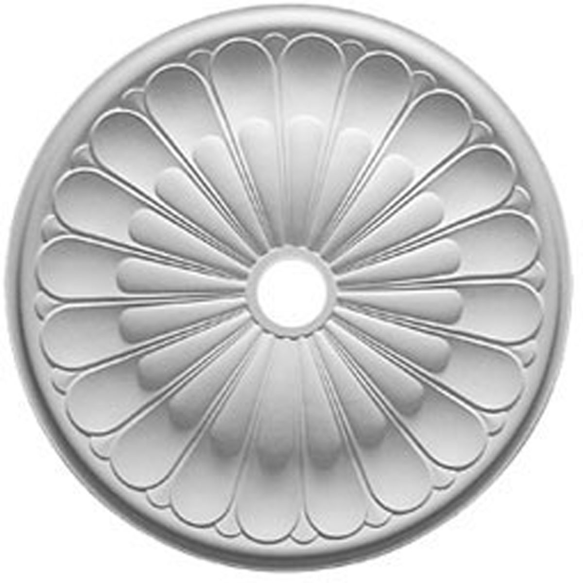"""EM-CM31GO - 31 5/8""""OD x 3 5/8""""ID x 1 7/8""""P Gorleen Ceiling Medallion (Fits Canopies up to 3 5/8"""")"""