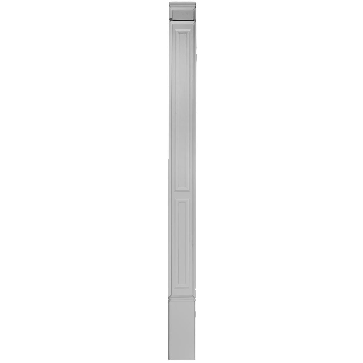 """EM-PIL07X90X02DP - 7""""W x 87""""H x 2 3/8""""P Double Raised Panel, Trimmable by 12"""" (each)"""