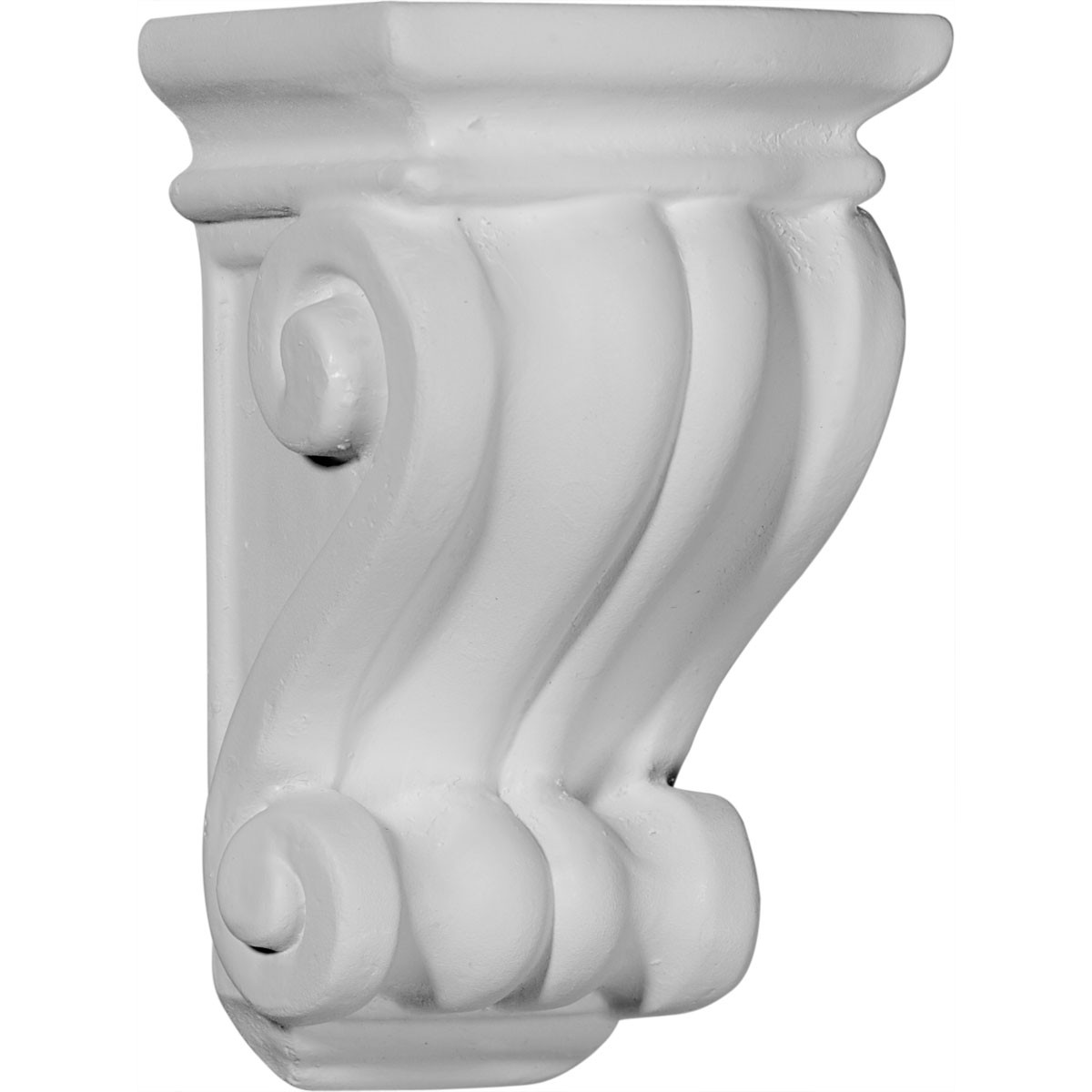 """EM-COR03X03X06CO - 3 1/8""""W x 3""""D x 5 1/4""""H Traditional Cole Pilaster Corbel"""