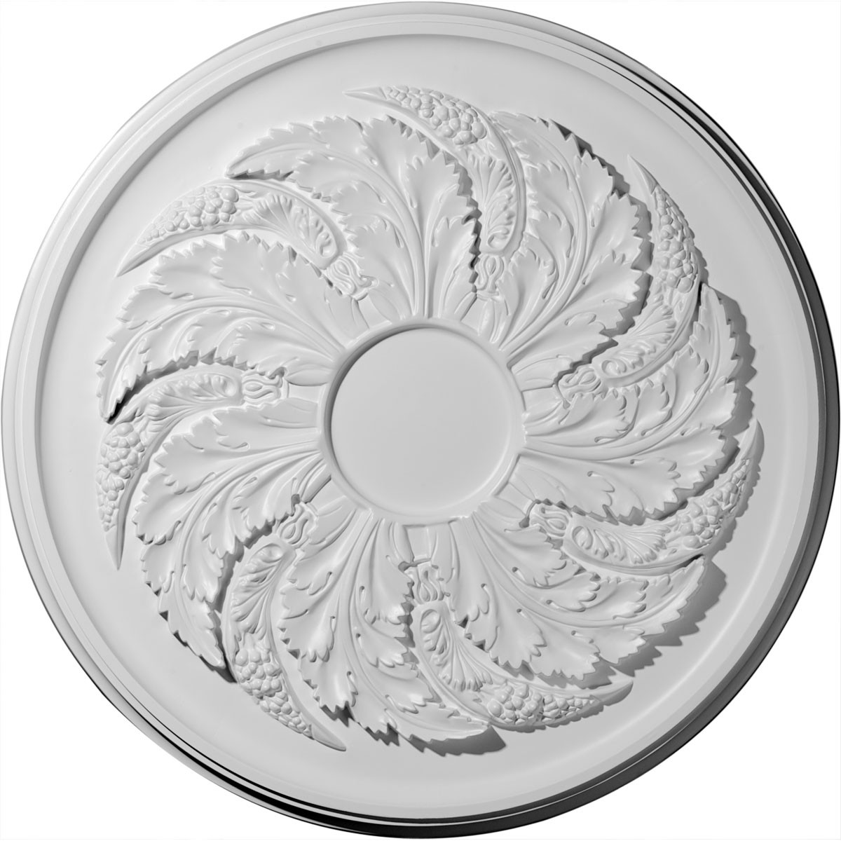 """EM-CM42SK - 42 1/8""""OD x 1 7/8""""P Sellek Ceiling Medallion (Fits Canopies up to 9"""")"""