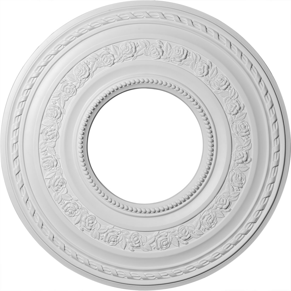 """EM-CM29AT - 29 3/8""""OD x 11 5/8""""ID x 1 1/8""""P Anthony Ceiling Medallion (Fits Canopies up to 11 5/8"""")"""