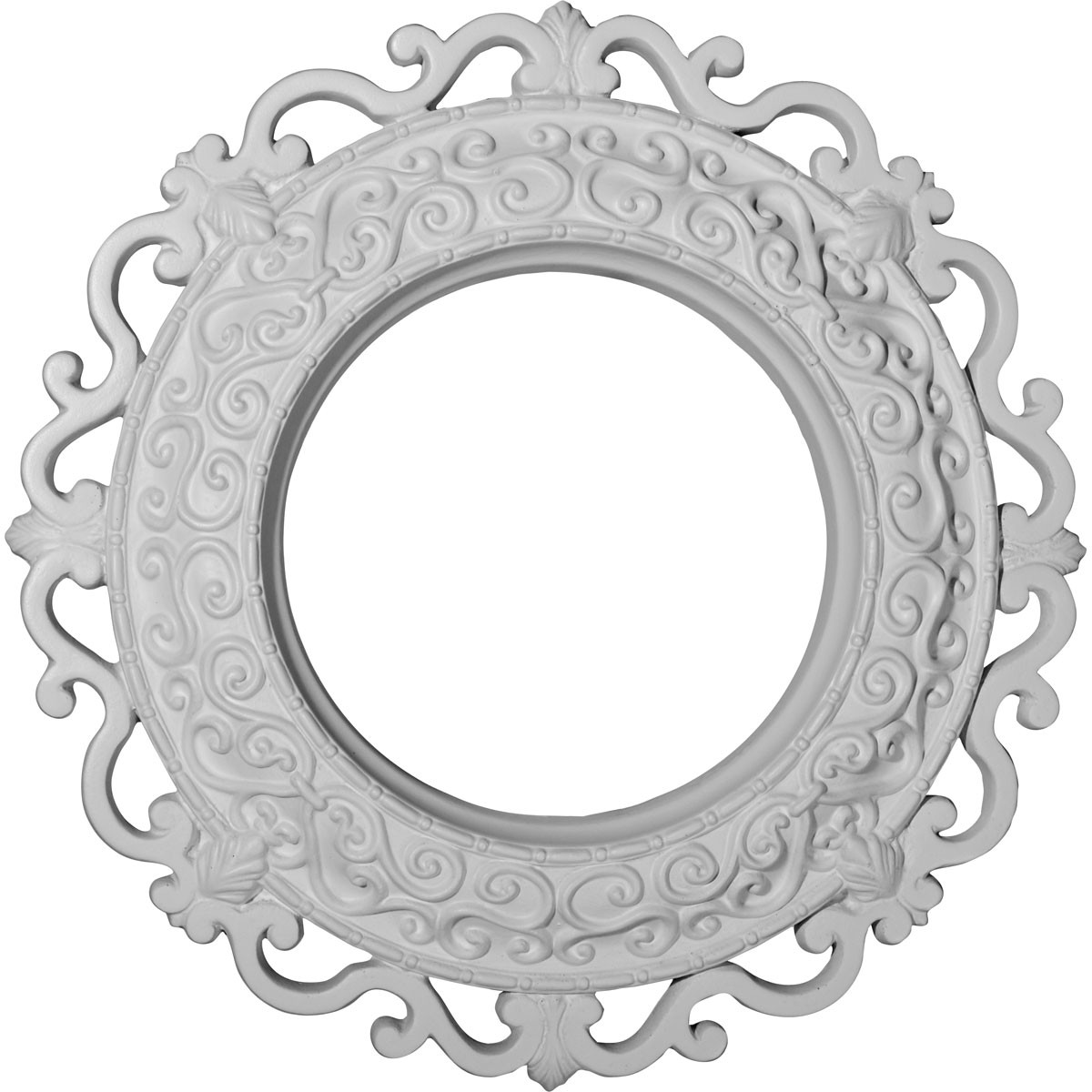 """EM-CM13OR - 13 1/4""""OD x 6 5/8""""ID x 1 1/8""""P Orrington Ceiling Medallion (Fits Canopies up to 6 5/8"""")"""