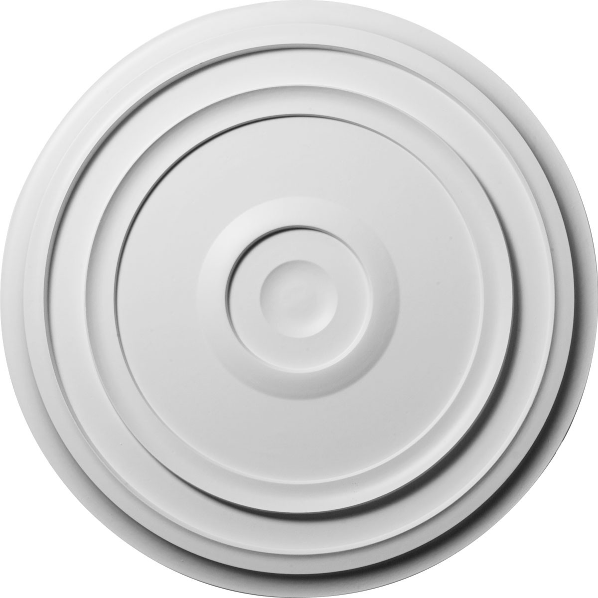 """EM-CM24RE - 24 3/8""""OD x 1 1/8""""P Traditional Reece Ceiling Medallion (Fits Canopies up to 5 7/8"""")"""