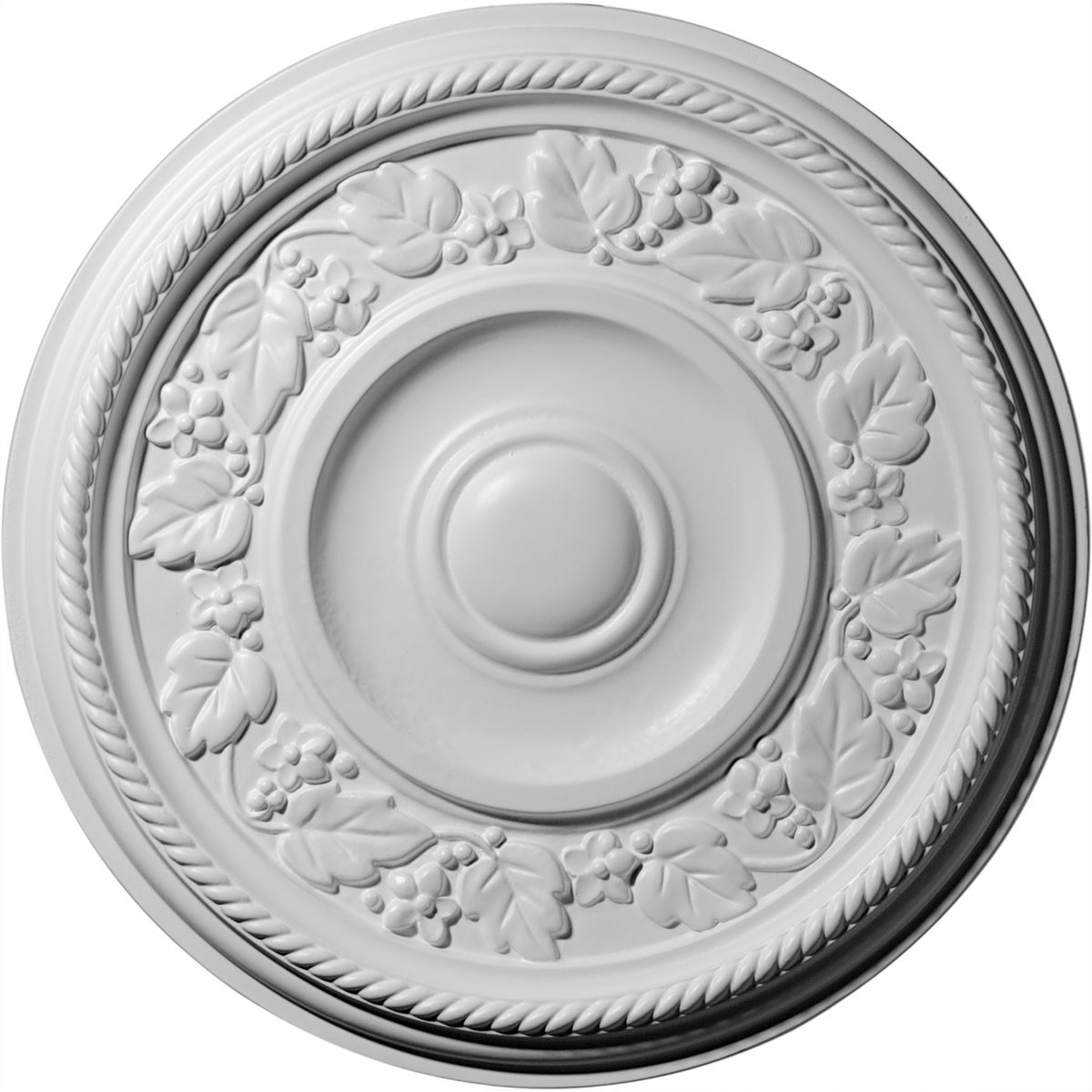 """EM-CM16TY - 16 1/8""""OD x 3/4""""P Tyrone Ceiling Medallion (Fits Canopies up to 6 3/4"""")"""