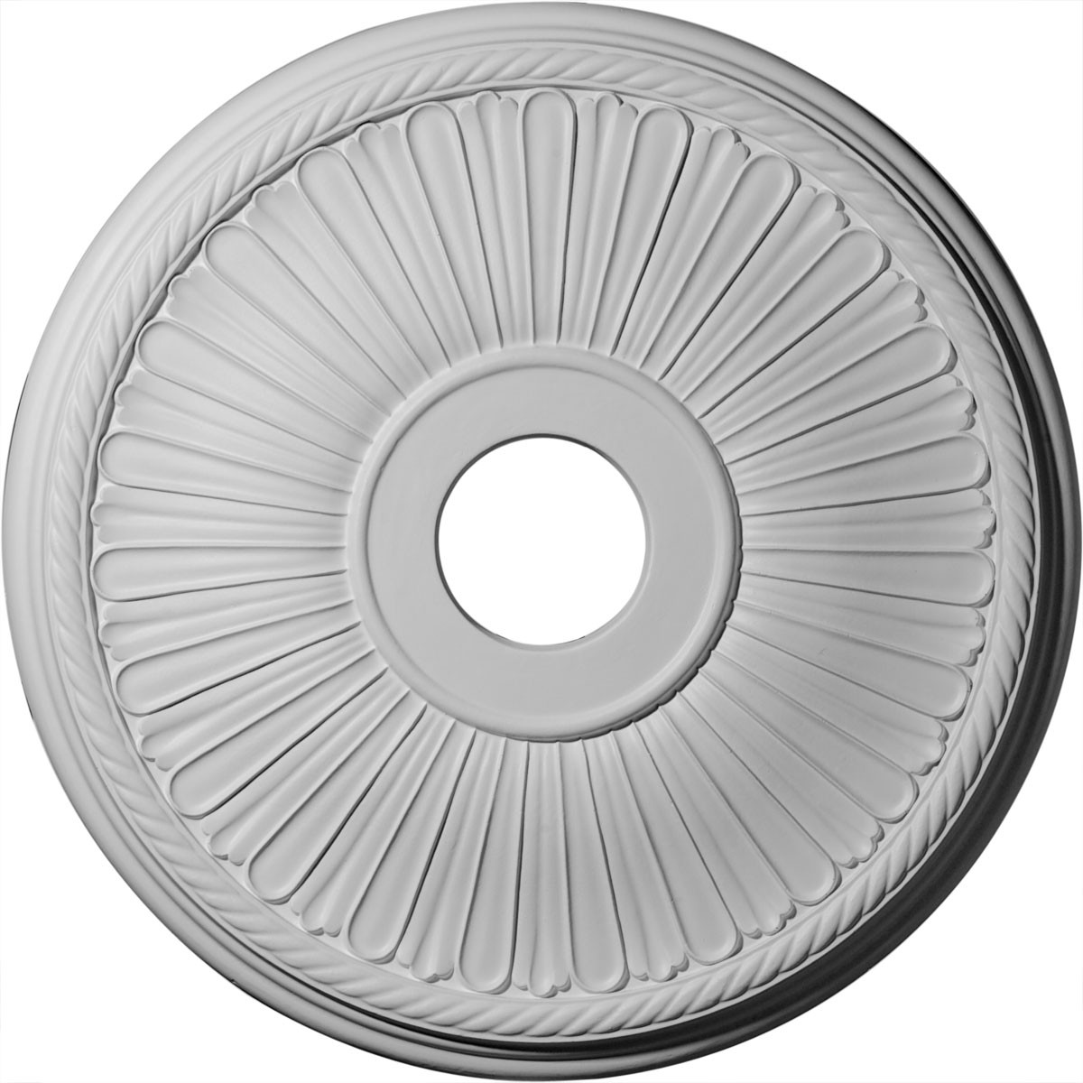 "EM-CM20BE1 - 20 1/8""OD x 3 7/8""ID x 1 7/8""P Berkshire Ceiling Medallion (Fits Canopies up to 6 3/8"")"