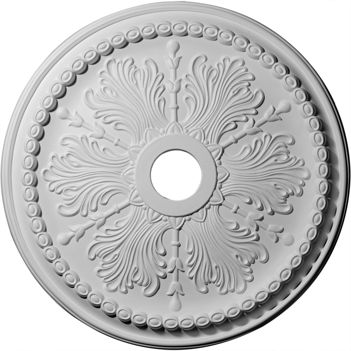 """EM-CM27WI - 27 1/2""""OD x 4""""ID x 1 1/2""""P Winsor Ceiling Medallion (Fits Canopies up to 4"""")"""