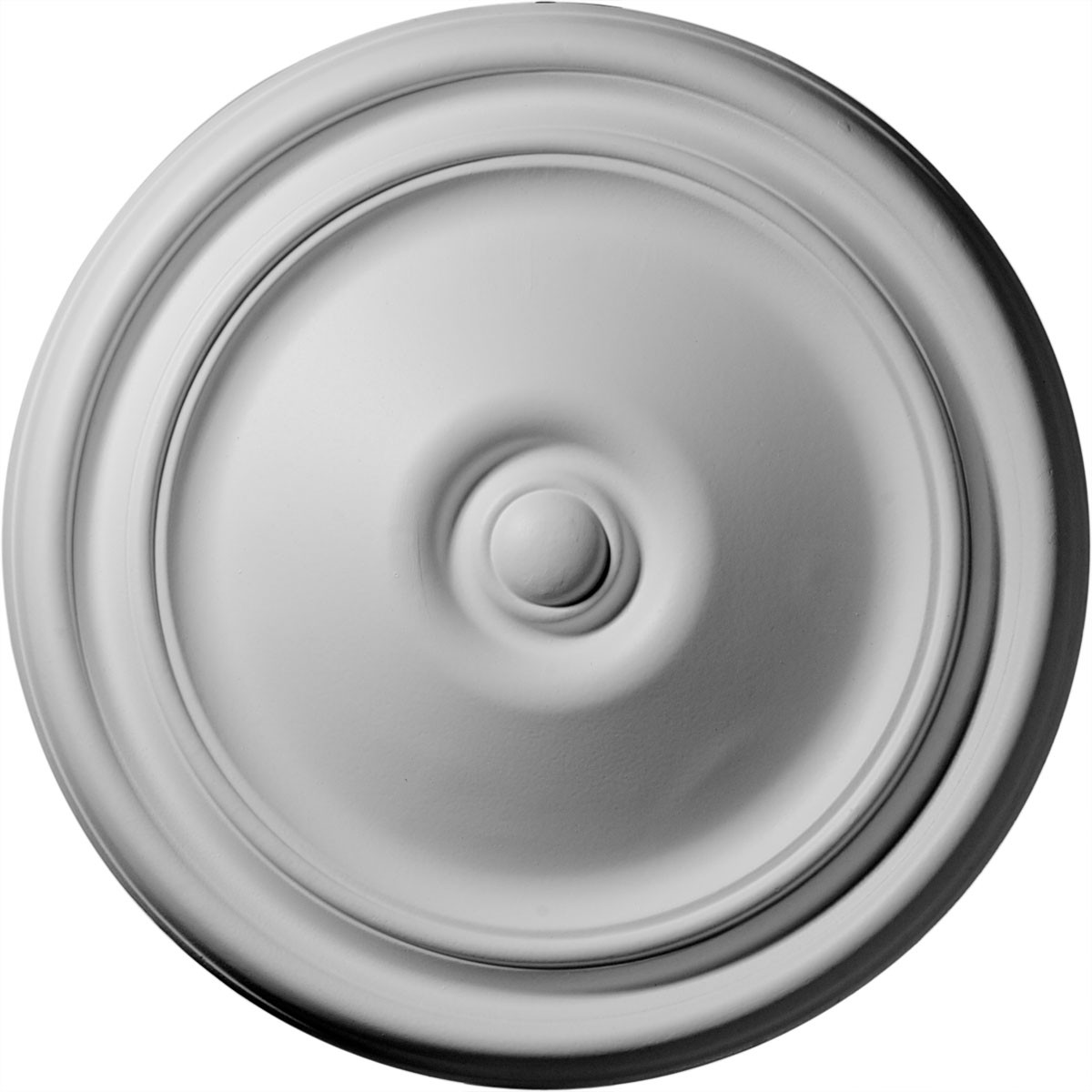 """EM-CM12RE - 12""""OD x 1 3/4""""P Reece Ceiling Medallion (Fits Canopies up to 2 3/8"""")"""
