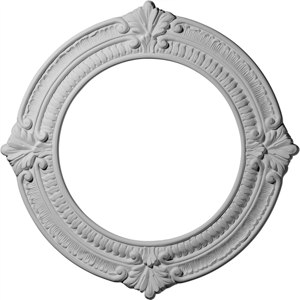 """EM-CM13BN - 13 1/8""""OD x 8""""ID x 5/8""""P Benson Ceiling Medallion (Fits Canopies up to 8"""")"""