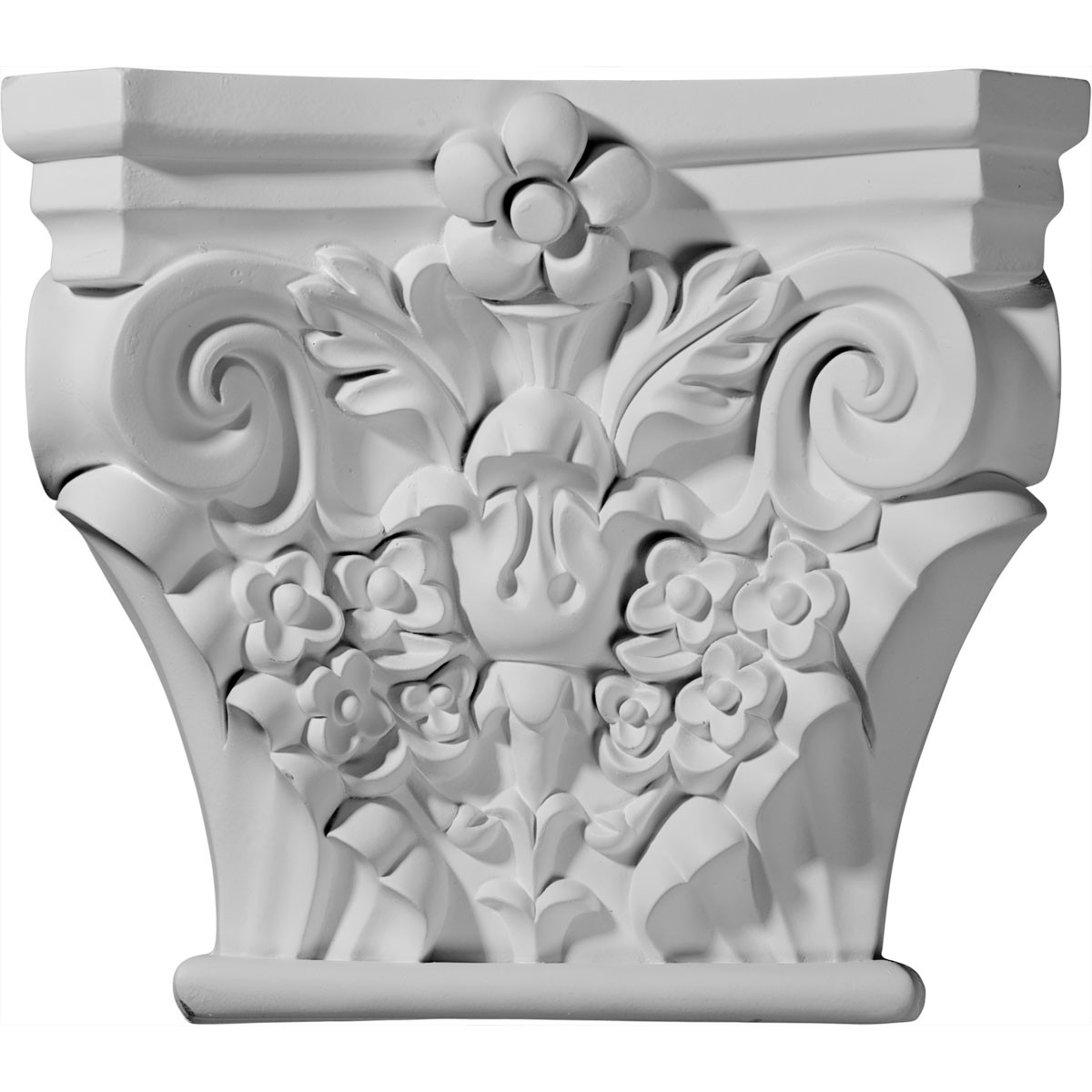"EM-CAP11X07X11AT - 11 1/2""W x 3 3/8""D x 10 1/8""H Anthony Capital (Fits Pilasters up to 8""W x 1 1/2""D)"