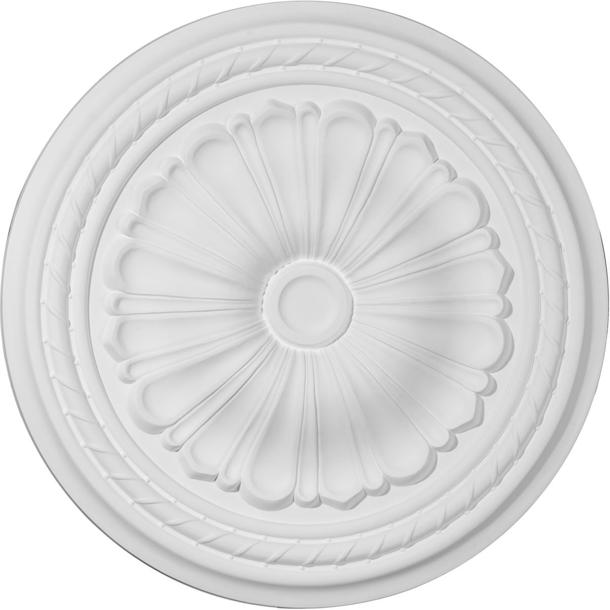"EM-CM20AL - 20 1/2""OD x 1 7/8""P Alexa Ceiling Medallion (Fits Canopies up to 2 7/8"")"