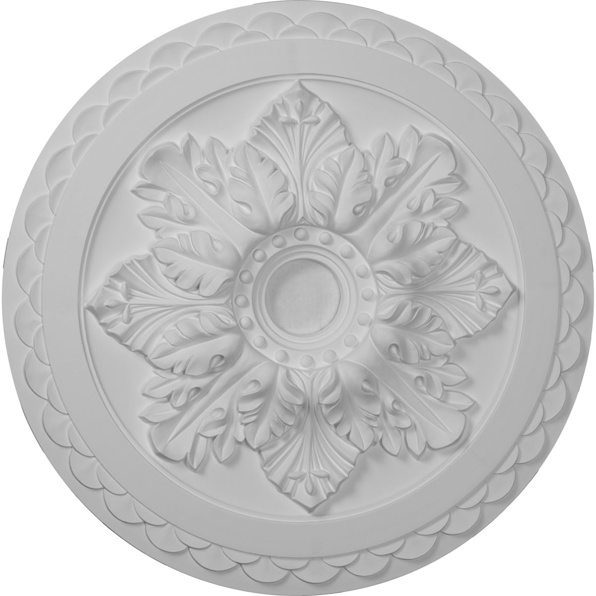 """EM-CM23BO - 23 5/8""""OD x 3""""ID x 2""""P Bordeaux Deluxe Ceiling Medallion (Fits Canopies up to 4"""")"""