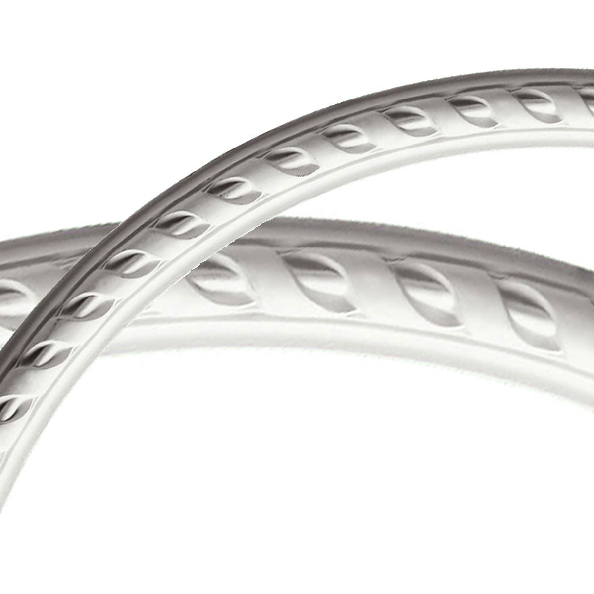 """EM-CR25ME - 50""""OD x 47""""ID x 1 1/2""""W x 3/4""""P Medway Ceiling Ring (1/4 of complete circle)"""