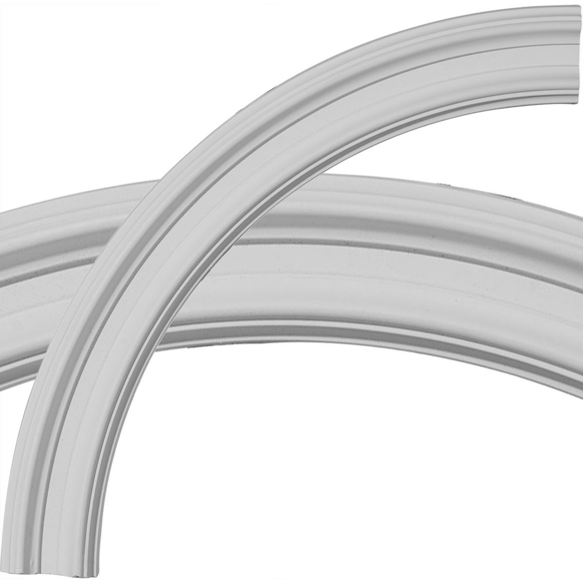 """EM-CR23CL - 24""""OD x 20""""ID x 2""""W x 7/8""""P Claremont Ceiling Ring (1/4 of complete circle)"""