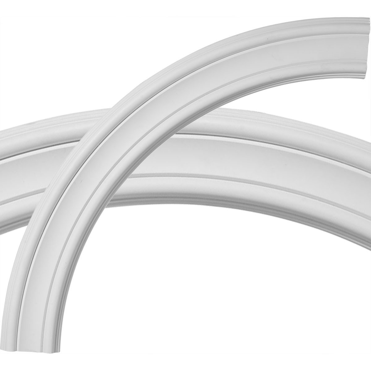 """EM-CR35PI - 36 1/2""""OD x 30 1/4""""ID x 3 1/8""""W x 3/4""""P Pierced Ceiling Ring (1/4 of complete circle)"""