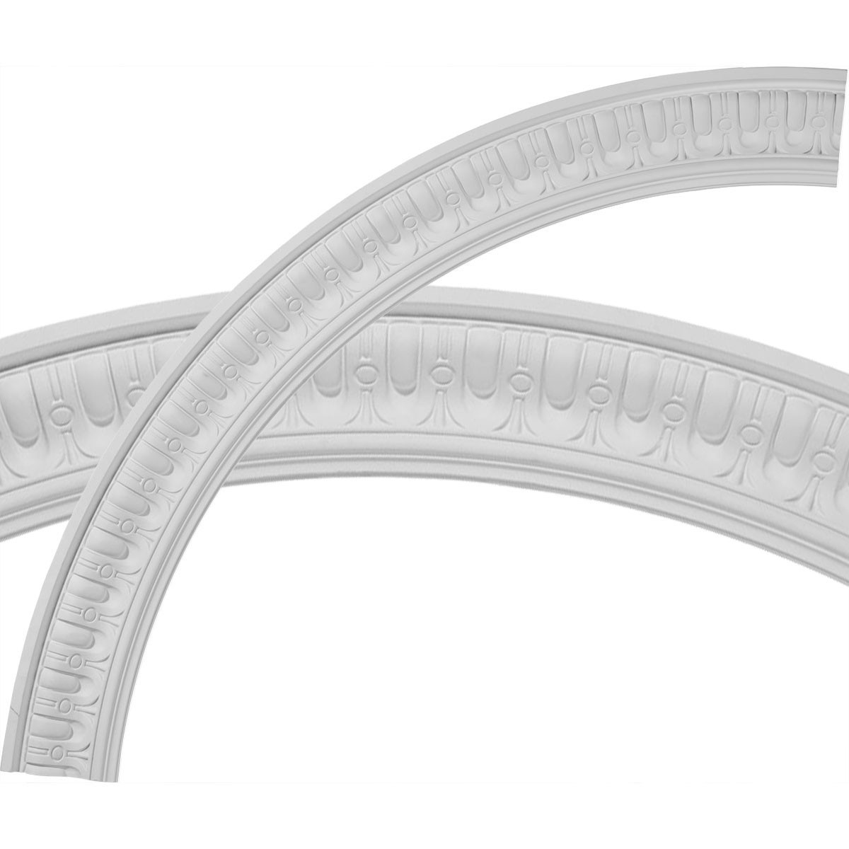 """EM-CR55SQ - 55""""OD x 46 3/4""""ID x 4 1/8""""W x 1 1/8""""P Sequential Ceiling Ring (1/4 of complete circle)"""