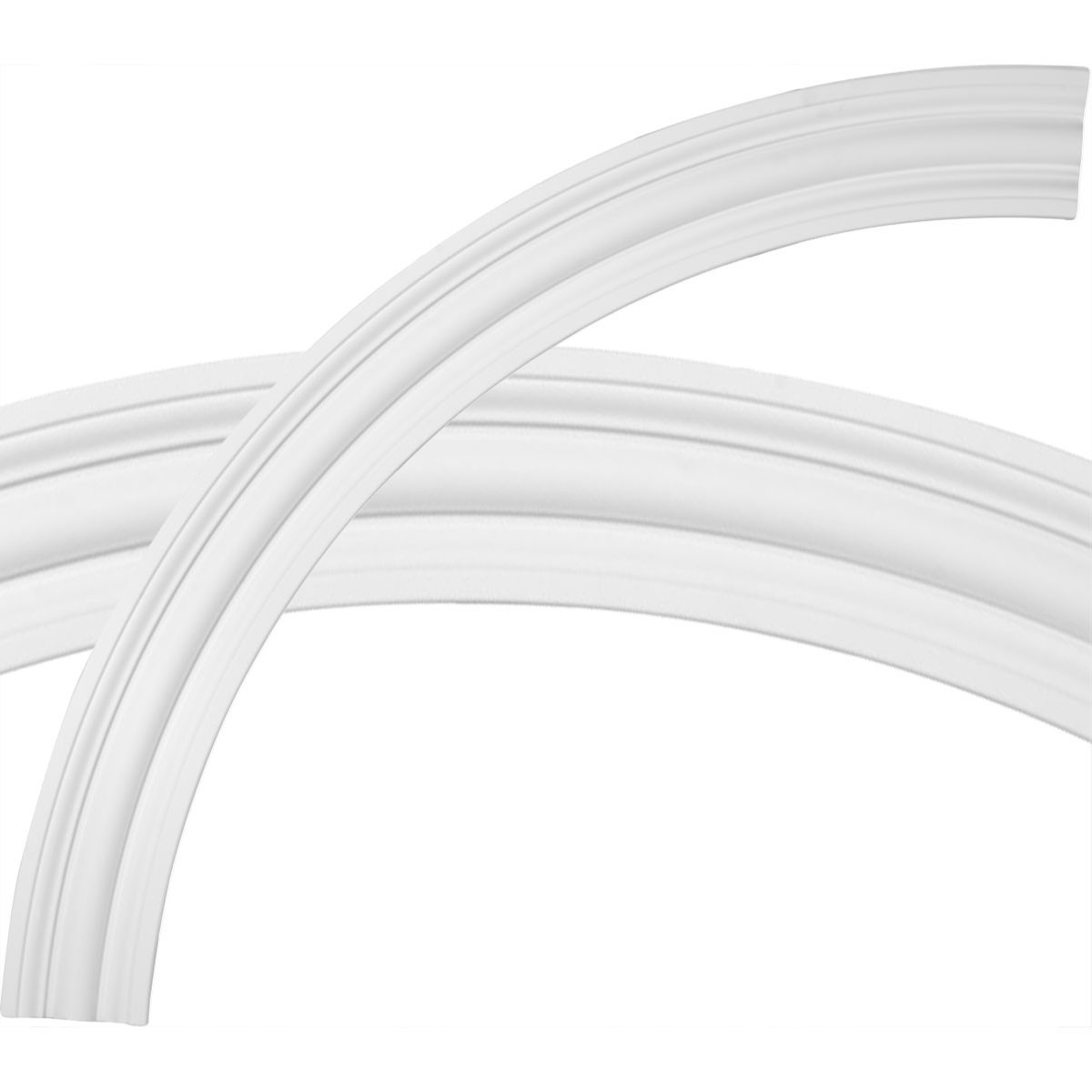 """EM-CR67BR - 68""""OD x 58""""ID x 5""""W x 1""""P Bradford Ceiling Ring (1/4 of complete circle)"""