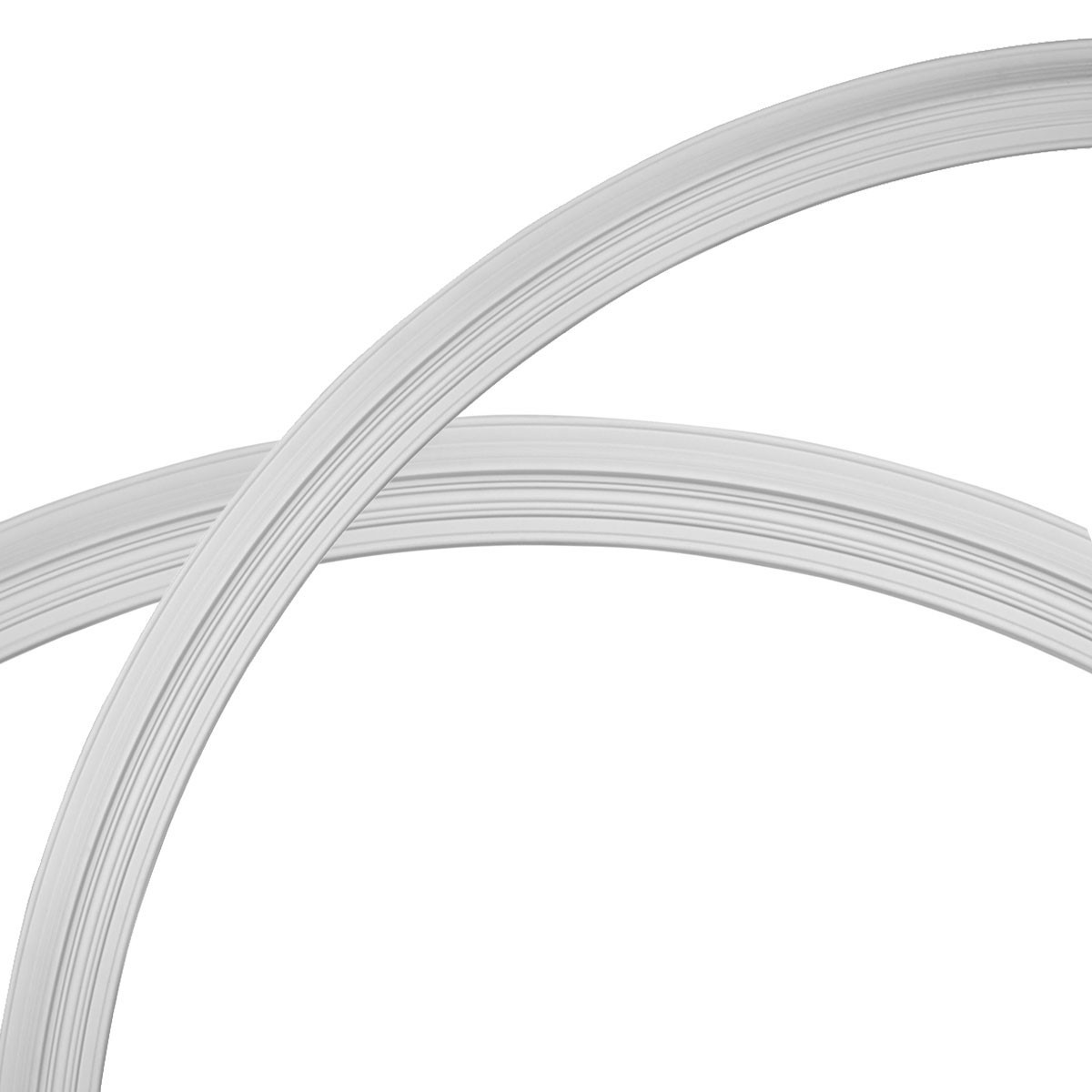 """EM-CR86LE - 87 1/2""""OD x 79 1/4""""ID x 4 1/8""""W x 1 1/2""""P Legacy Ceiling Ring (1/4 of complete circle)"""