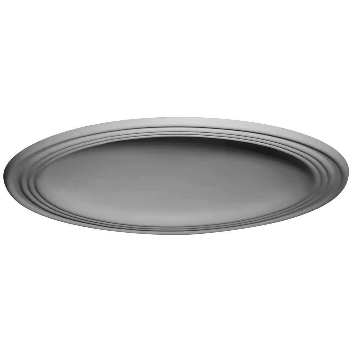"EM-DOME28TR - 28""OD x 22 1/2""ID x 4 5/8""D, 2 3/4""W Trim, Traditional Ceiling Dome (24""Diameter x 4 1/2""D Rough Opening)"