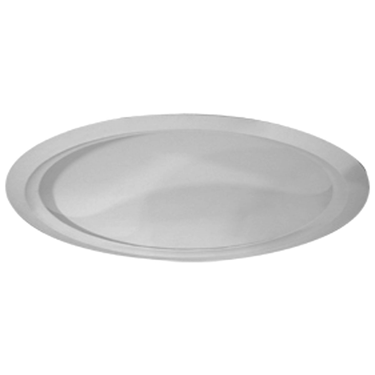 "EM-DOME62AR - 63 5/8""OD x 59 1/2""ID 13 3/8""D Artisan Ceiling Dome with Light Ring (62""Diameter x 13 3/8""D Rough Opening)"