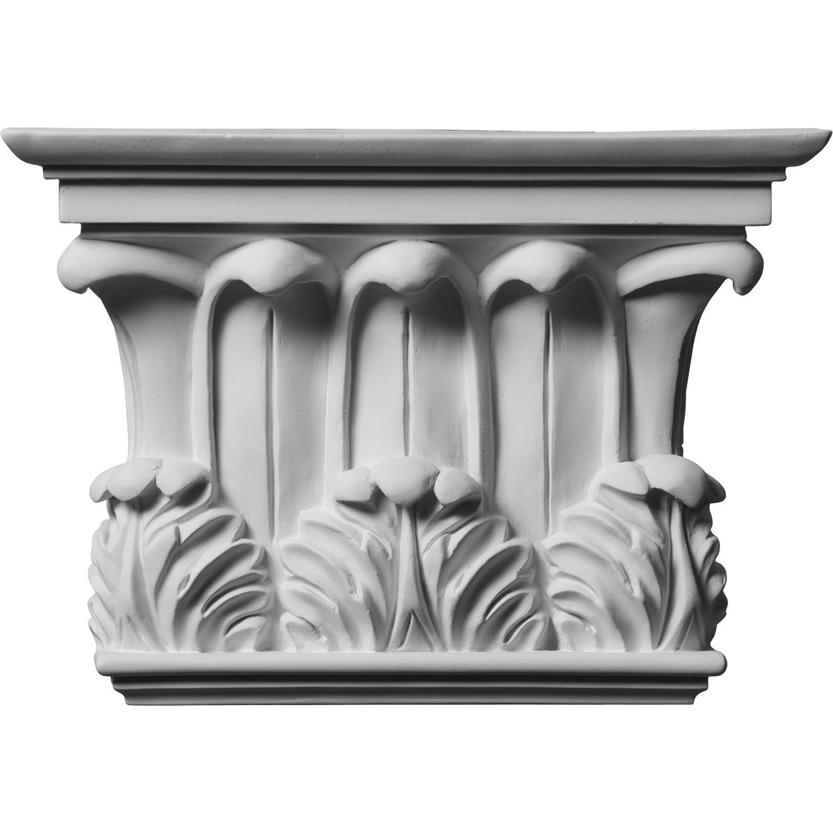 """EM-CAP11X08X03TW - 10 3/4""""W x 7 5/8""""H x 2 3/4""""P Temple of Winds Capital (Fits Pilasters up to 7 3/8""""W x 1 1/8""""D)"""