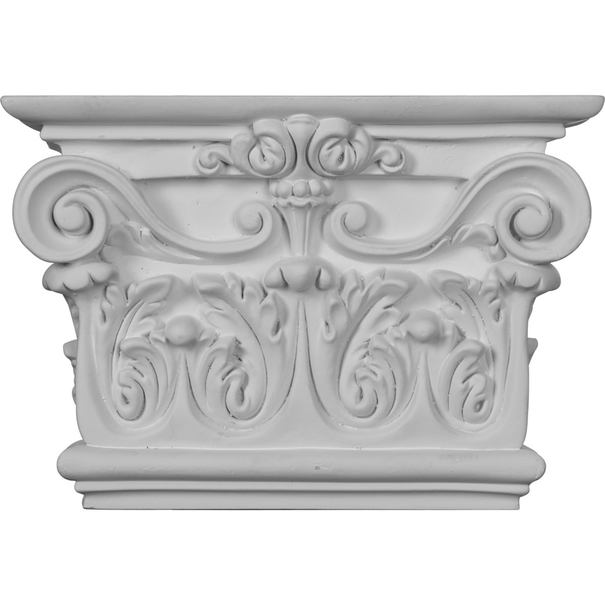 """EM-CAP07X10X03AR - 10 3/8""""W x 7 1/2""""H x 2 5/8""""P Artis Onlay Capital (Fits Pilasters up to 7 3/4""""W x 1 3/8""""D)"""