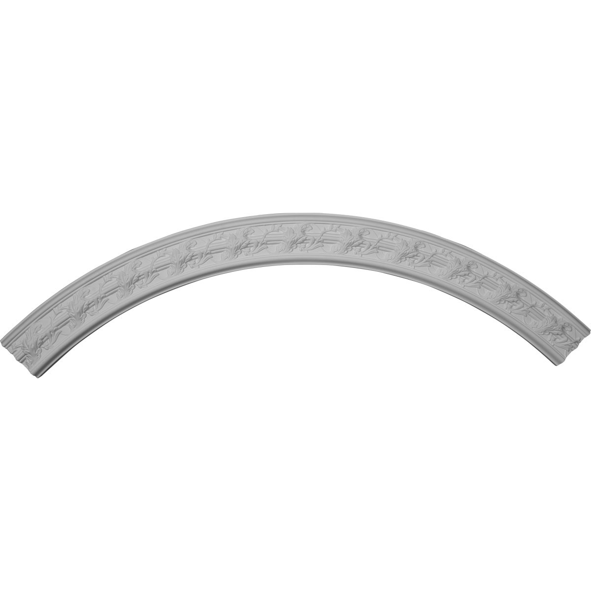 """EM-CR67TR - 67 3/8""""OD x 58 5/8""""ID x 7/8""""P Tristan Ceiling Ring (1/4 of complete circle)"""