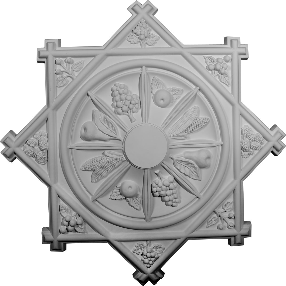 """EM-CM38AN - 38 1/4""""OD x 1 1/2""""P Antilles Ceiling Medallion (Fits Canopies up to 6"""")"""