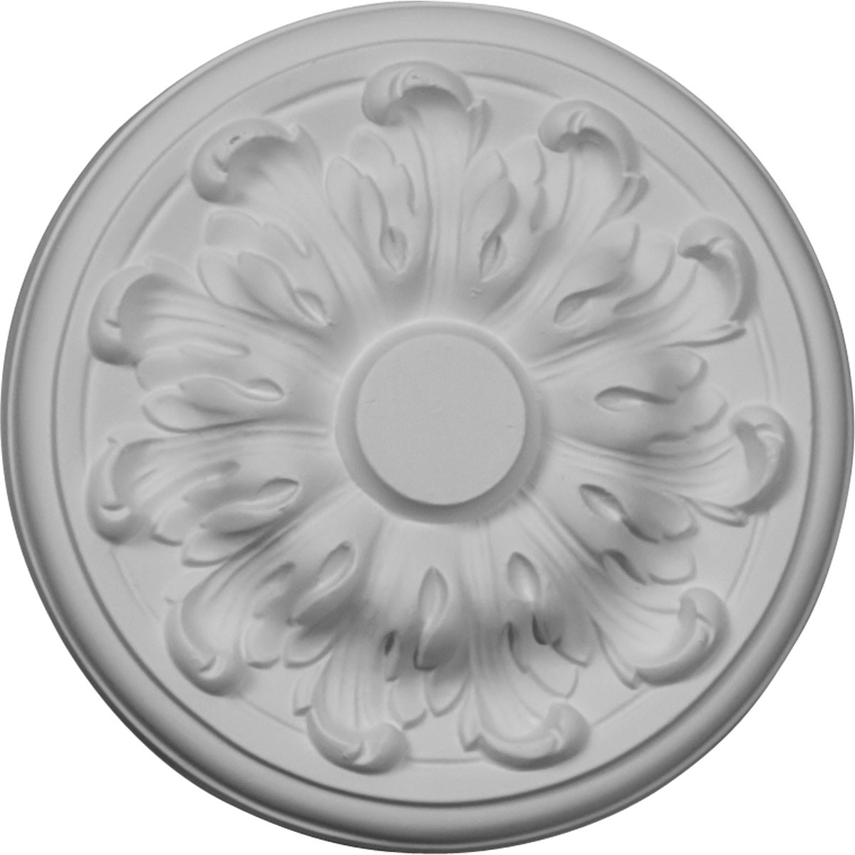 """EM-CM08MU - 7 7/8""""OD x 1/4""""P Millin Ceiling Medallion (Fits Canopies up to 2"""")"""