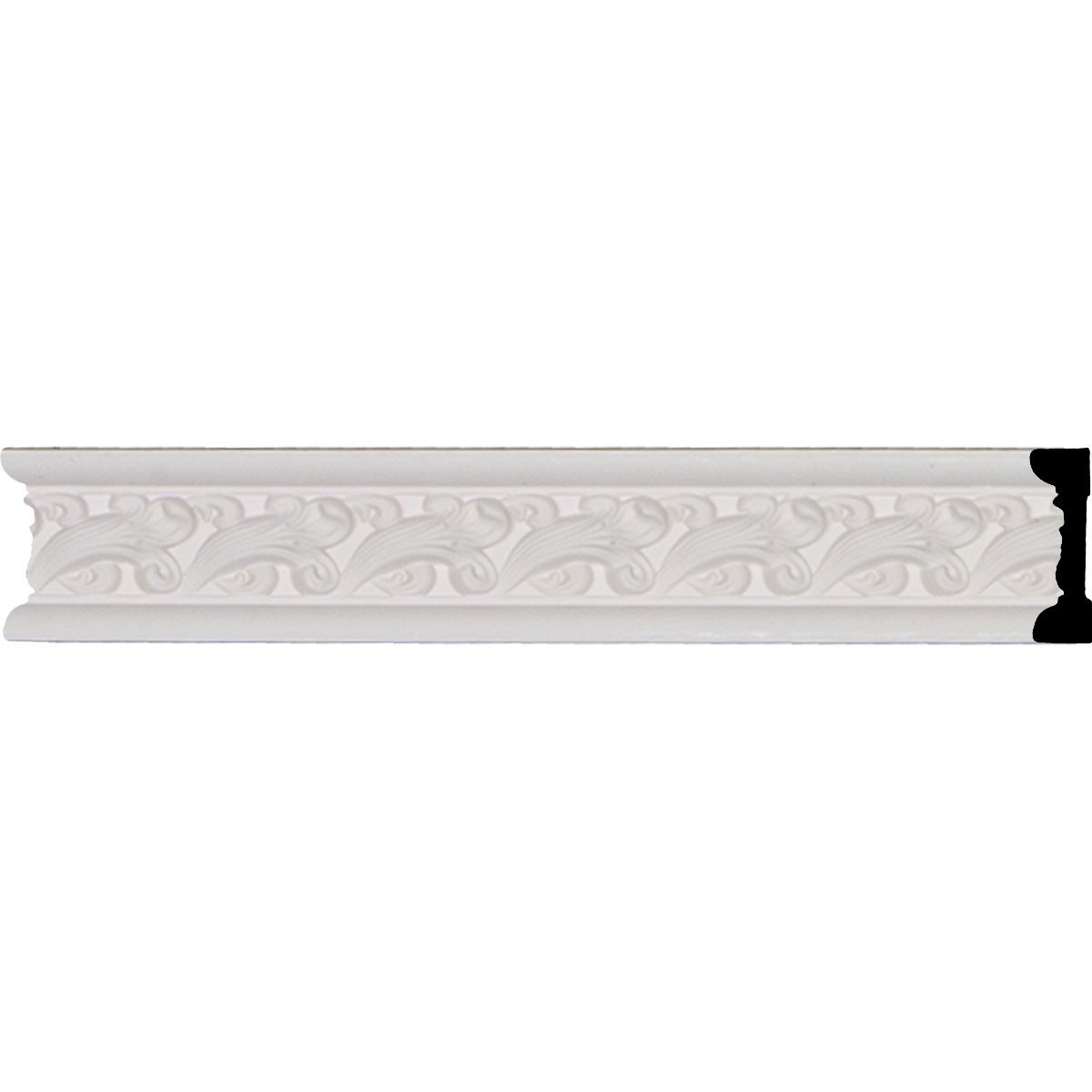 "EM-CHA02X01KN - 2 1/4""H x 3/4""P x 95 3/4""L, (1 7/8"" Repeat), Kinsley Chair Rail"