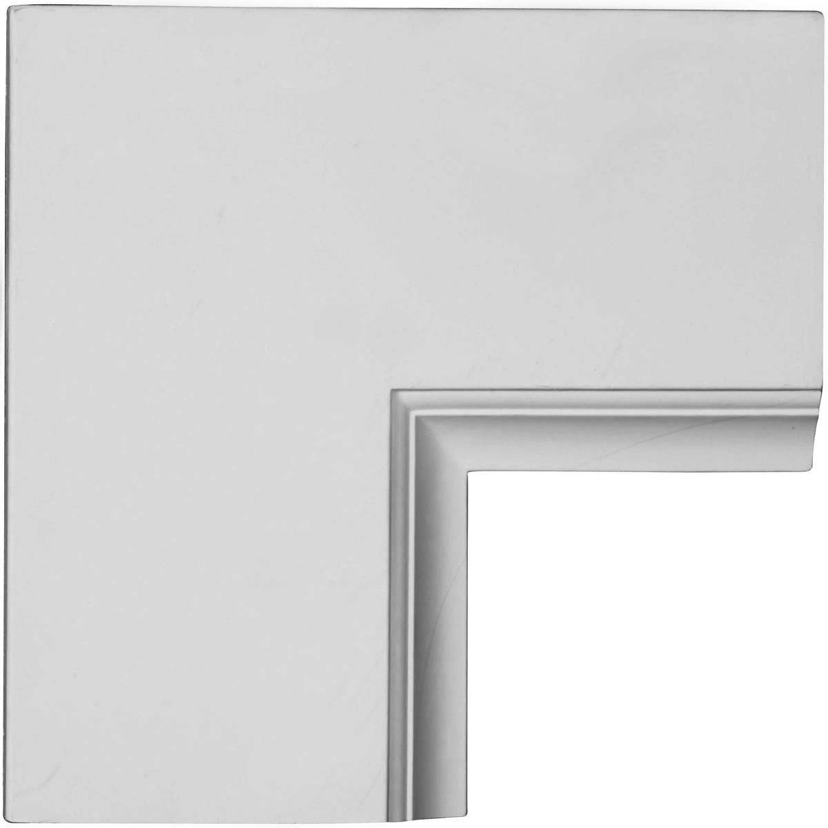 """EM-CC08PIC02X14X14TR - 14""""W x 2""""P x 14""""L Perimeter Inside Corner for 8"""" Traditional Coffered Ceiling System"""