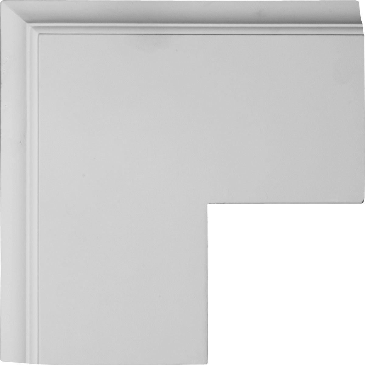 """EM-CC08POC02X14X14TR - 14""""W x 2""""P x 14""""L Perimeter Outside Corner for 8"""" Traditional Coffered Ceiling System"""