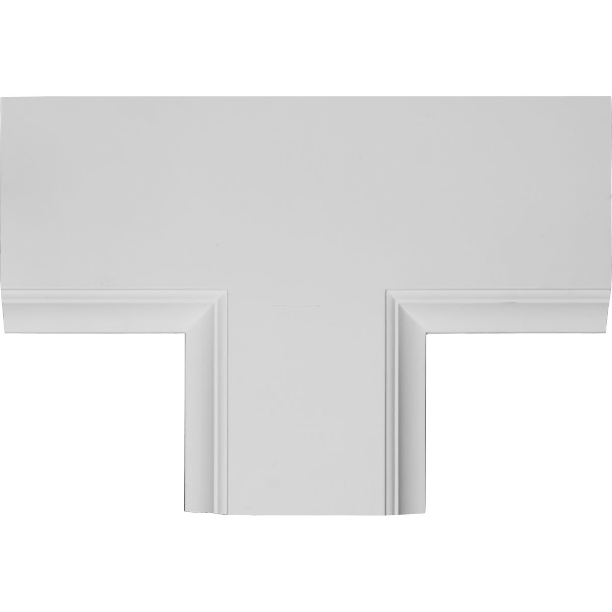 """EM-CC08PTE02X14X20TR - 14""""W x 2""""P x 20""""L Perimeter Tee for 8"""" Traditional Coffered Ceiling System"""