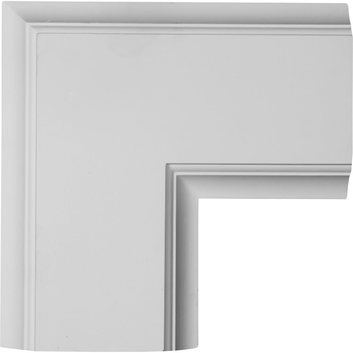 """EM-CC08ICN02X14X14TR - 14""""W x 2""""P x 14""""L Inner Corner for 8"""" Traditional Coffered Ceiling System"""