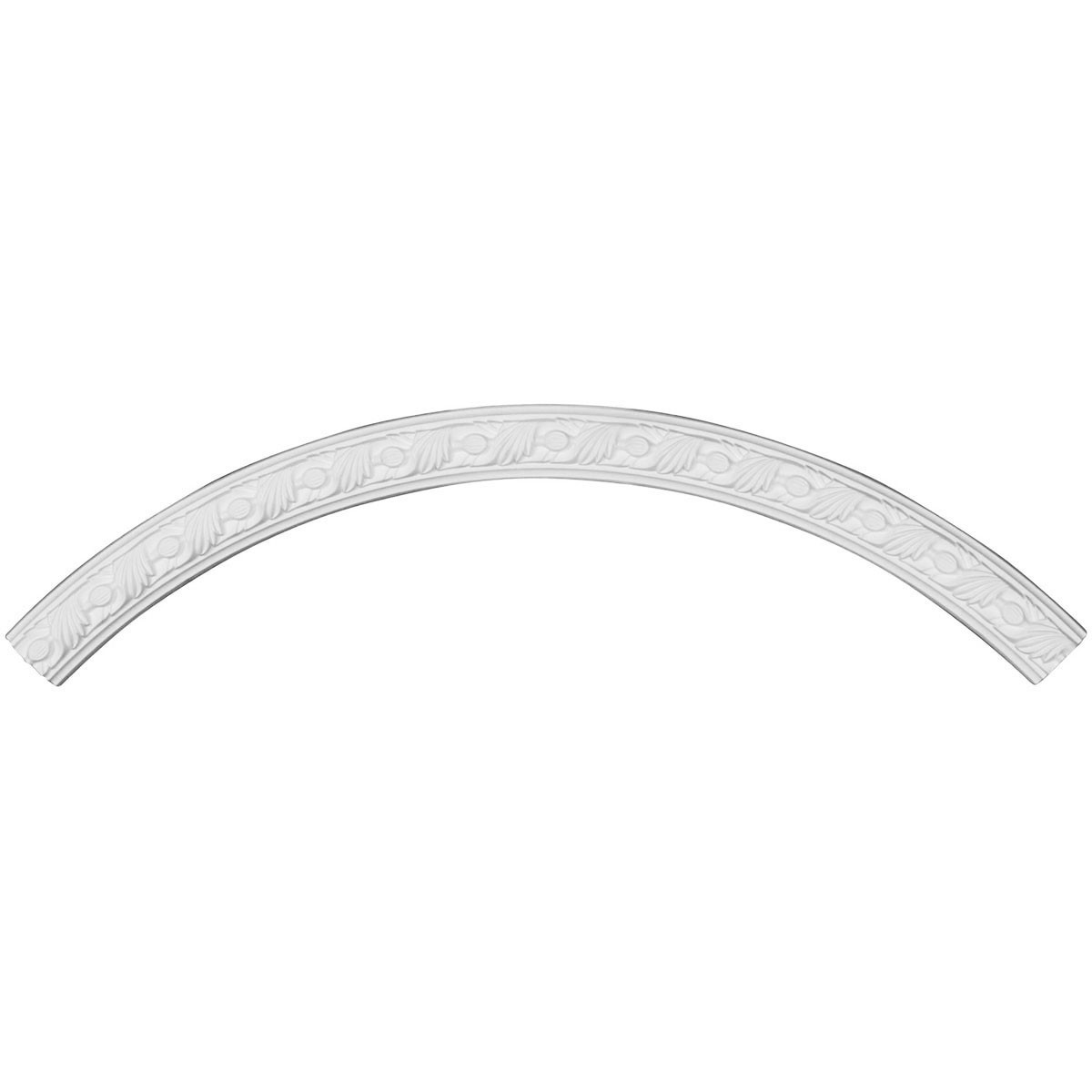 """EM-CR44MI - 43 5/8""""OD x 39 3/8""""ID x 2 1/8""""W x 7/8""""P Milton Ceiling Ring (1/4 of complete circle)"""