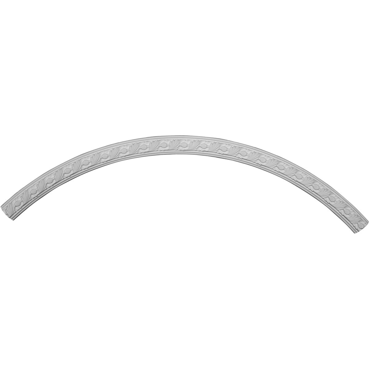 """EM-CR59MI - 59 3/8""""OD x 55 1/8""""ID x 2 1/8""""W x 7/8""""P Milton Ceiling Ring (1/4 of complete circle)"""