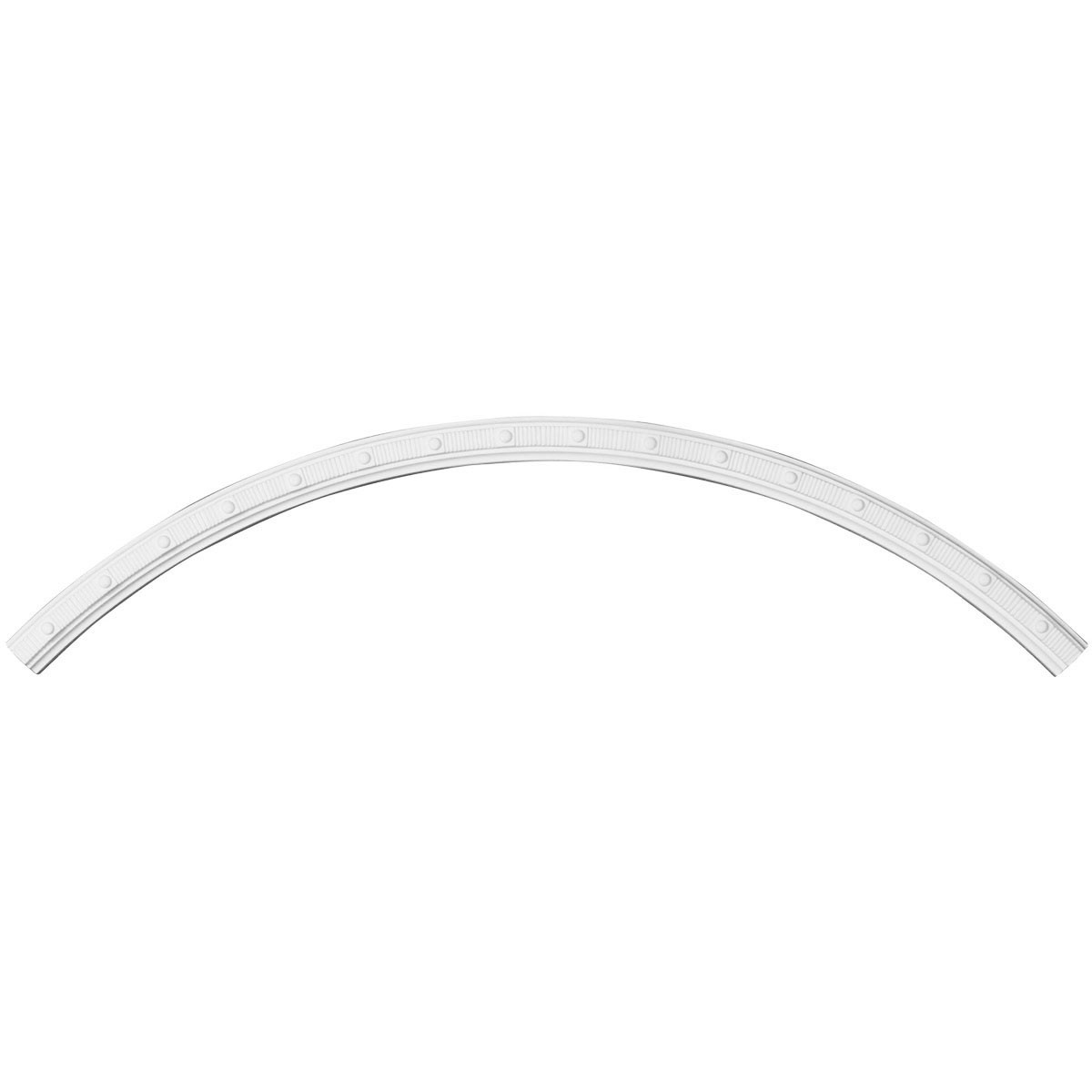 """EM-CR42SE - 41 3/4""""OD x 39 3/8""""ID x 1 1/4""""W x 3/4""""P Seville Ceiling Ring (1/4 of complete circle)"""