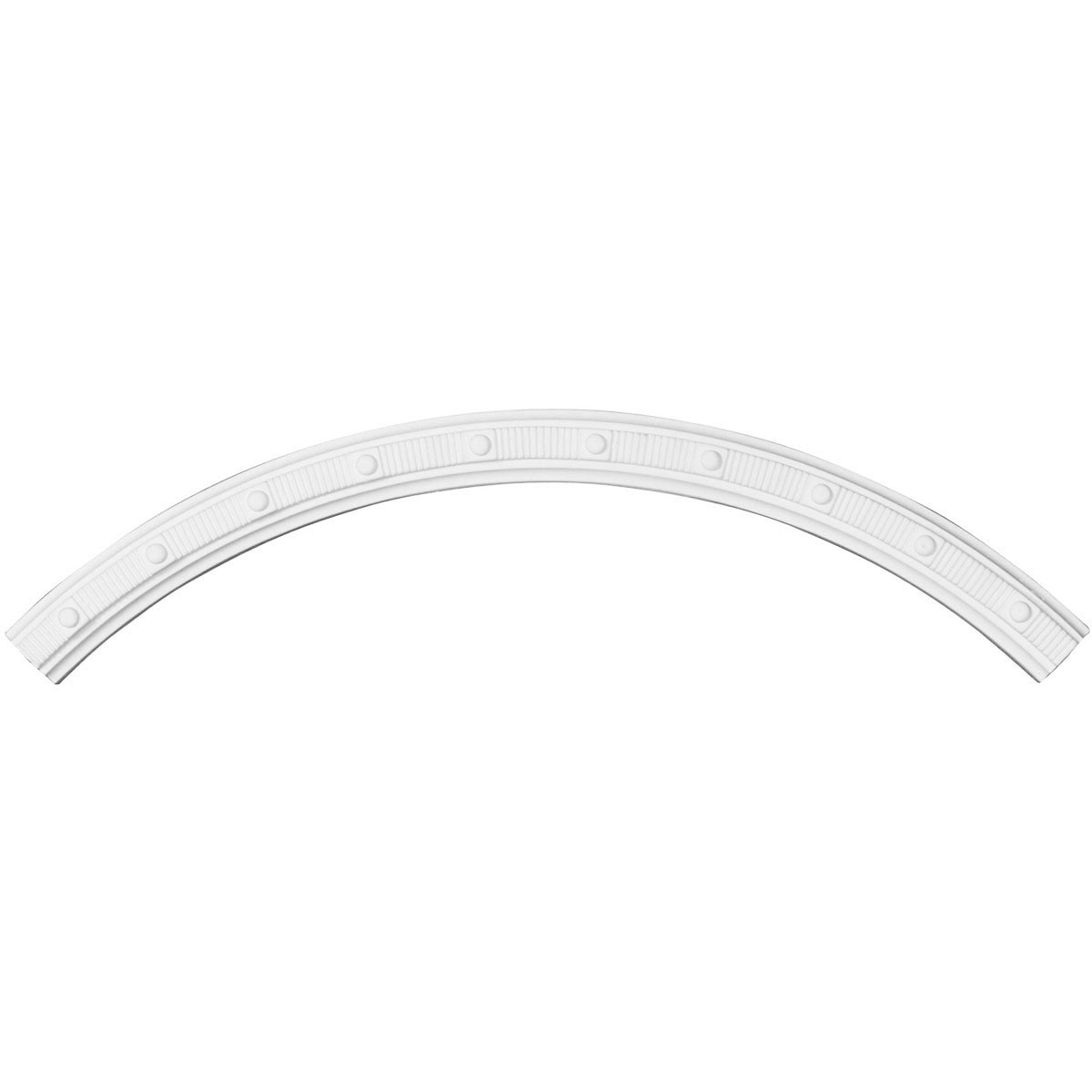 """EM-CR26SE - 26""""OD x 23 5/8""""ID x 1 1/4""""W x 3/4""""P Seville Ceiling Ring (1/4 of complete circle)"""