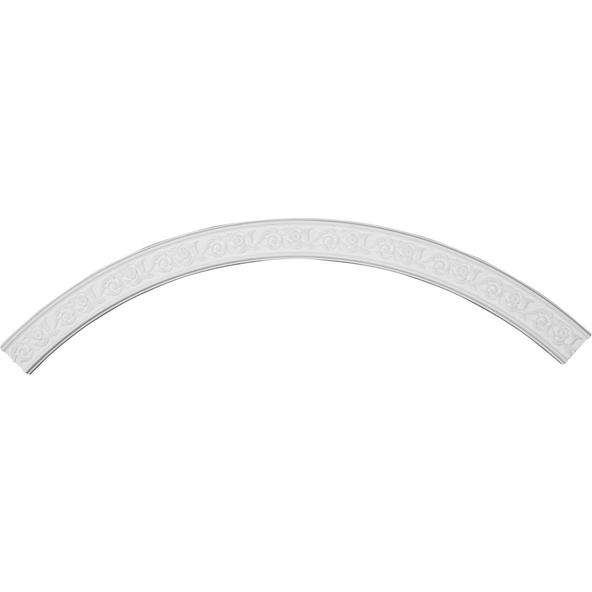 """EM-CR87AB - 87 3/8""""OD x 78 3/4""""ID x 4 3/8""""W x 3/4""""P Aberdeen Ceiling Ring (1/4 of complete circle)"""