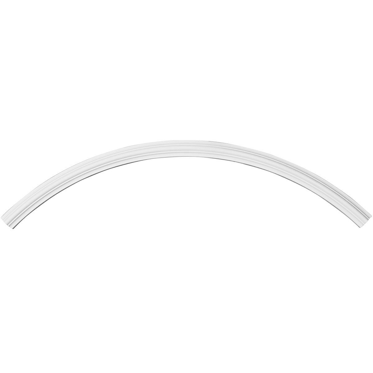 """EM-CR50TR - 50 3/8""""OD x 47 1/4""""ID x 1 5/8""""W x 3/4""""P Traditional Ceiling Ring (1/4 of complete circle)"""