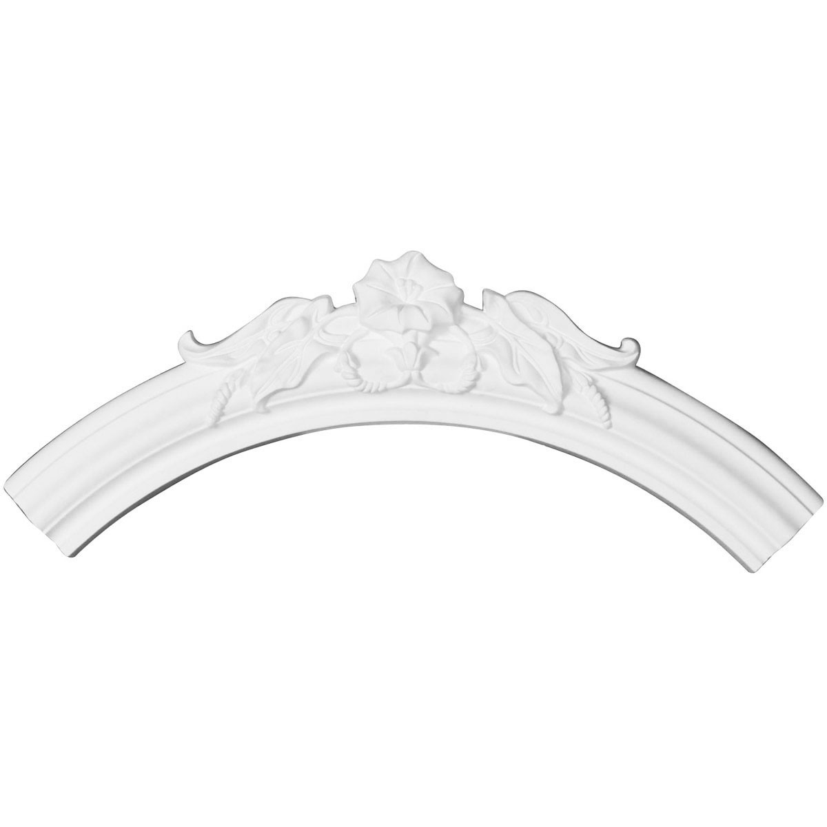 """EM-CR29FL - 28 3/4""""OD x 23 5/8""""ID x 2 5/8""""W x 7/8""""P Flower Ceiling Ring (1/4 of complete circle)"""