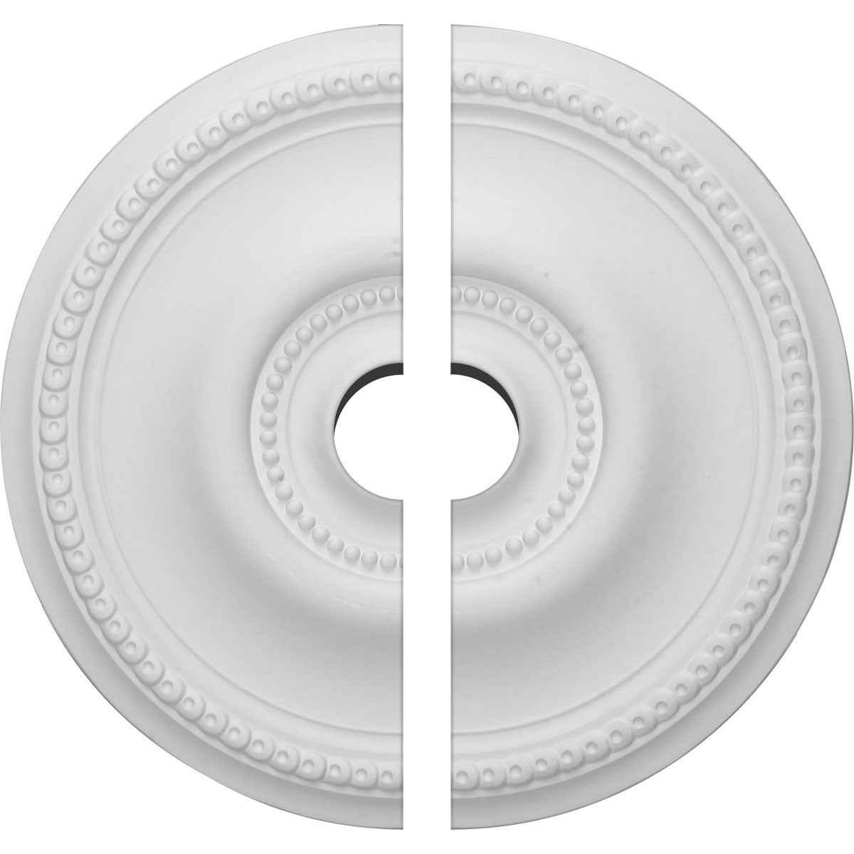"""EM-CM20BE2-03500 - 20 5/8""""OD x 3 1/2""""ID x 1 3/8""""P Raynor Ceiling Medallion, Two Piece (Fits Canopies up to 6"""")"""