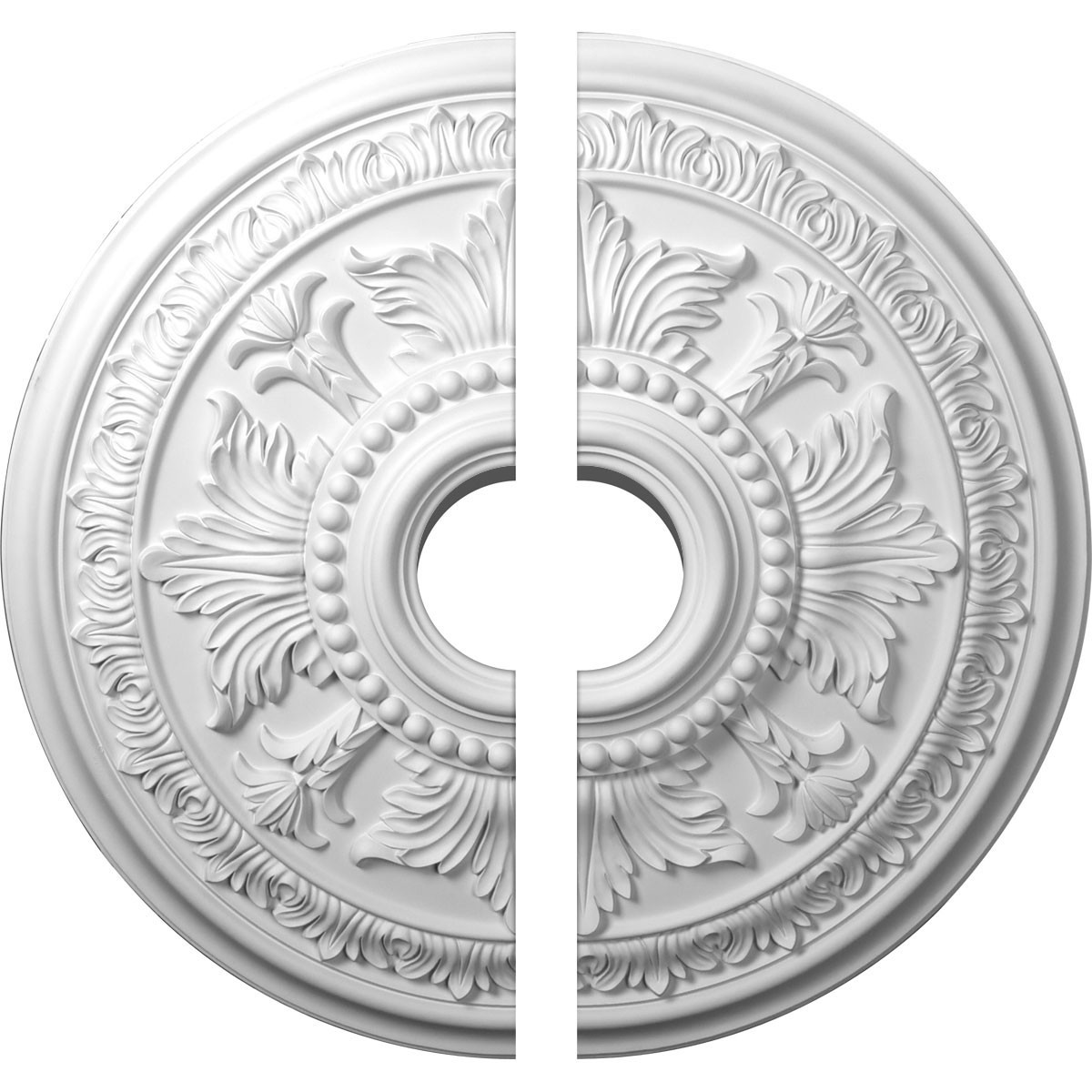 """EM-CM30TE2-06000 - 30 5/8""""OD x 6""""ID x 2 1/2""""P Tellson Ceiling Medallion, Two Piece (Fits Canopies up to 6 3/4"""")"""